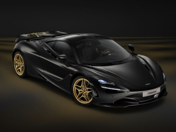 Einzelstück: McLaren 720S Satin Black and Gold