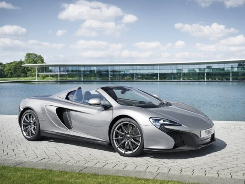 Mclaren praesentierte spezielle version des 650s goodwood 001