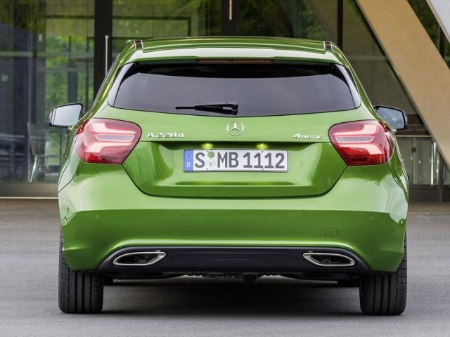 Mercedes A-Klasse im neuen Modelljahr ::: auto-motor.at :::