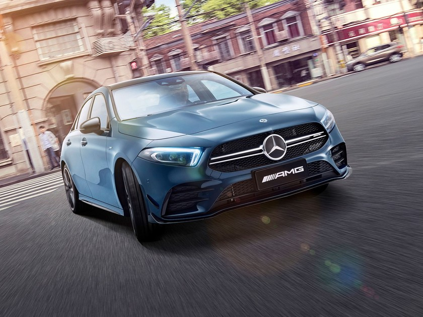Exklusiv fuer china mercedes amg a 35 l 4matic 001