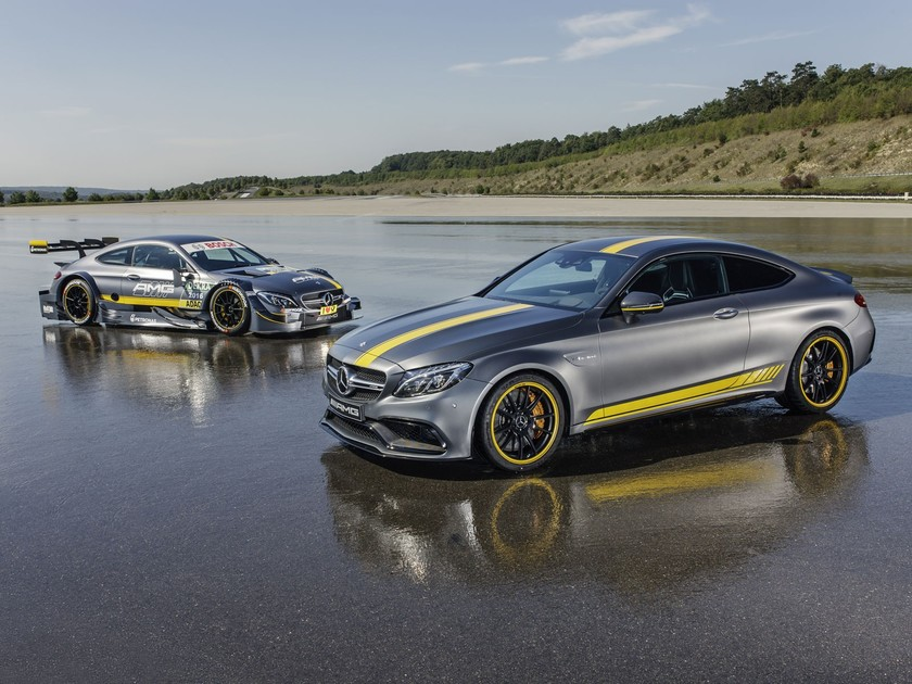 Sonderedition mercedes amg c 63 coupe edition 1 001