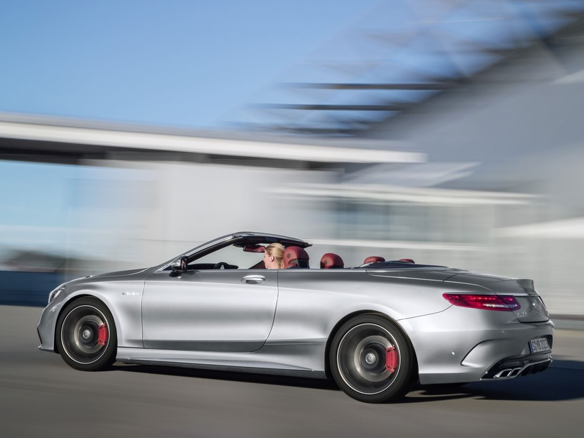 Limited edition mercedes amg s63 4matic cabrio edition 130 003