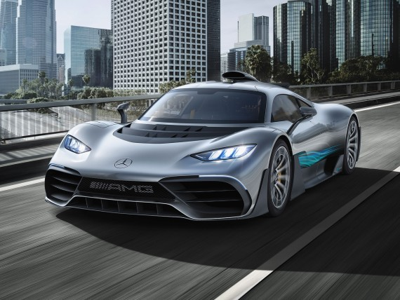 Showcar: Mercedes-AMG Project ONE; Bildquelle: Mercedes-AMG