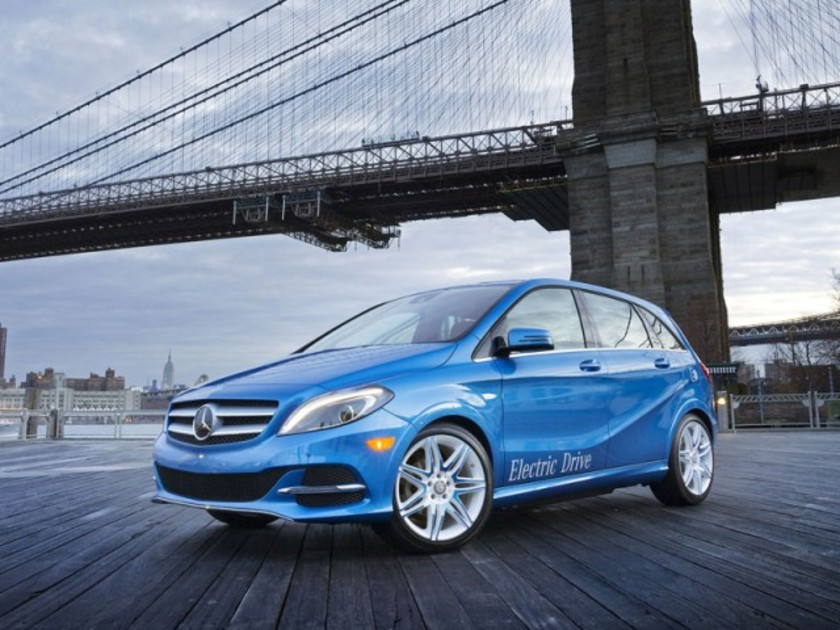 Premiere new york mercedes b klasse electric drive 009