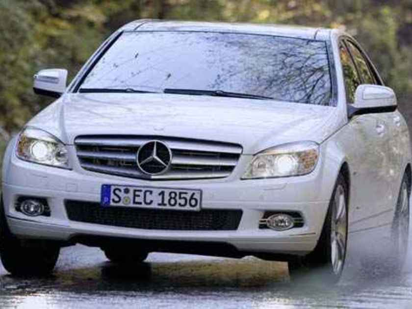 Mercedes 2008 4matic vorne