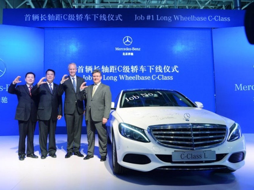 Fuer china langversion mercedes c klasse 001