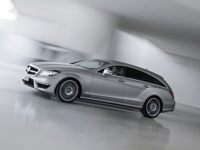 neu mercedes cls 63 amg shooting brake auto. Black Bedroom Furniture Sets. Home Design Ideas