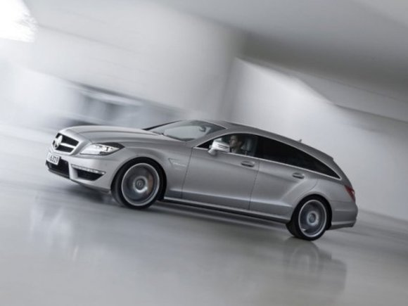 Mercedes CLS 63 AMG Shooting Brake