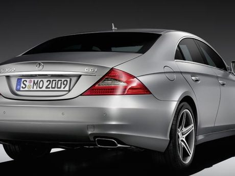 Mercedes cls grand edition hinten