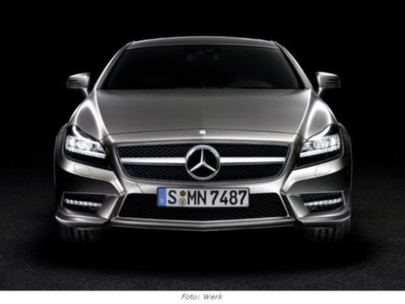 Premiere in Paris: Neuer Mercedes CLS