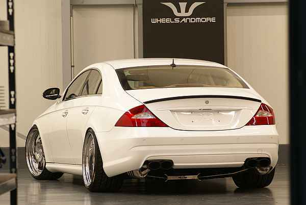 Mercedes cls white label hinten