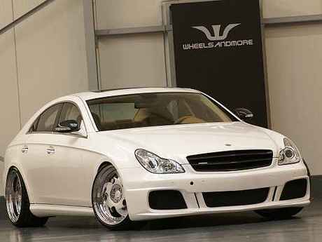 Mercedes cls white label vorne