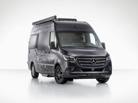 Mercedes-Benz am Caravan Salon 2018