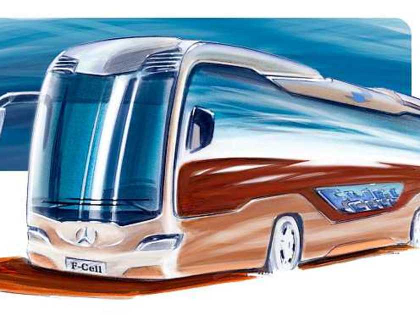mercedes citaro autobus mit wasserstoff hybrid antrieb. Black Bedroom Furniture Sets. Home Design Ideas