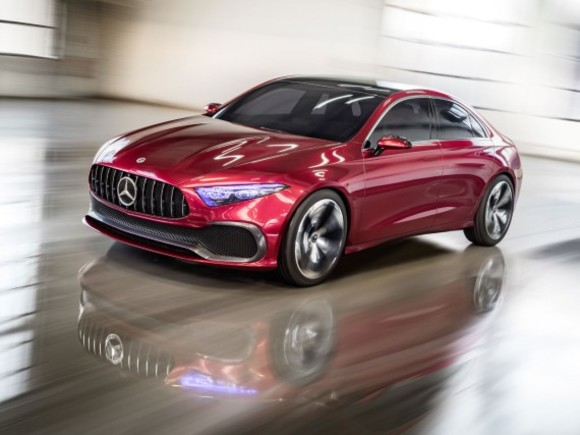 Mercedes zeigt Concept A Sedan in Shanghai