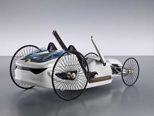 Mercedes mercedes f cell roadster 1