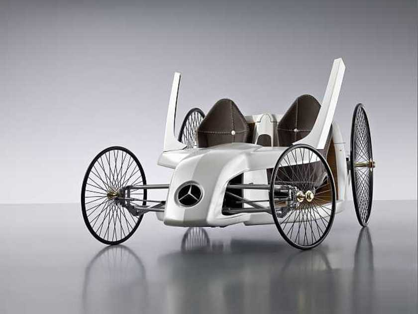 Mercedes mercedes f cell roadster 3