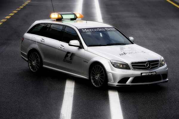 Mercedes safety car c63 amg t modell