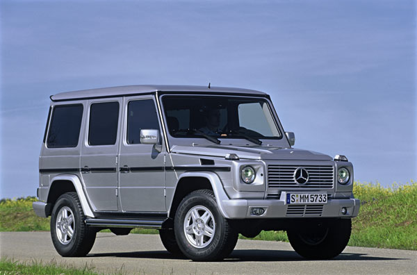 mercedes g klasse mit neuem 320 cdi motor bild 1 von 3 auto. Black Bedroom Furniture Sets. Home Design Ideas