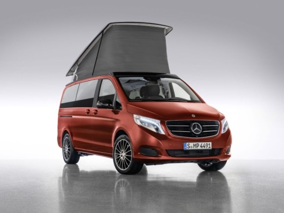 Neue Editionen vom Mercedes Marco Polo Horizon
