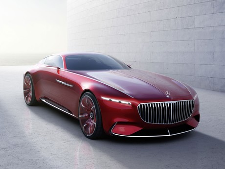 Vision mercedes maybach 6 001