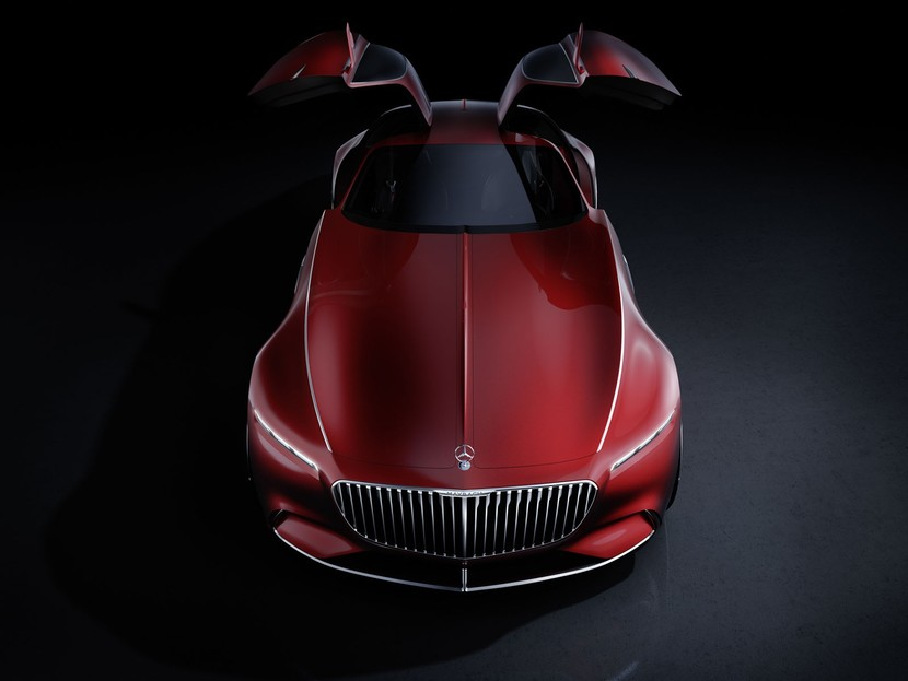 Vision mercedes maybach 6 004