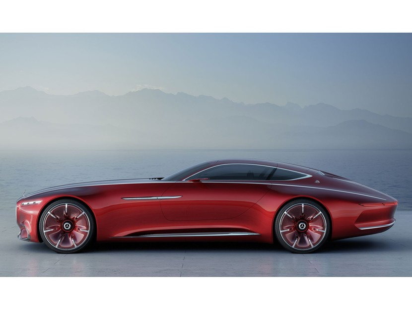 Vision mercedes maybach 6 005