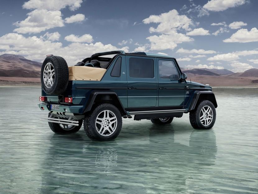 nur 99 stück: luxus-version der mercedes g-klasse ::: auto-motor.at :::