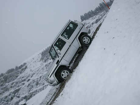 Mercedes 4matic offroad experience oesterreich 003