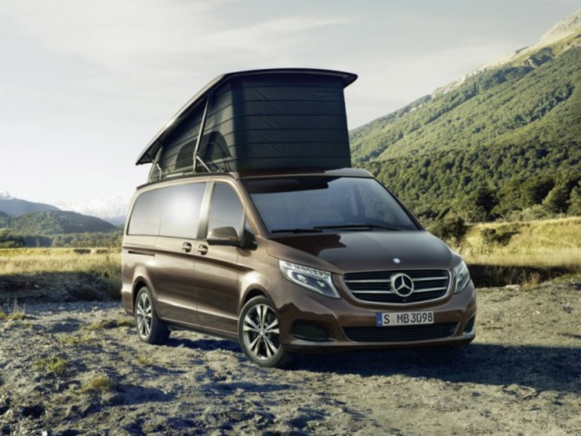 marco polo neues reisemobil von mercedes auto motor. Black Bedroom Furniture Sets. Home Design Ideas