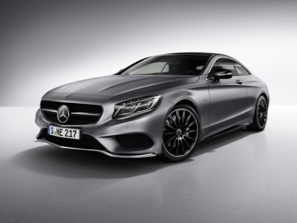 Neu: Mercedes S-Klasse Coupé Night Edition
