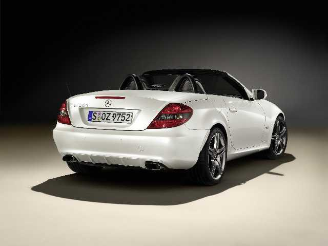 Mercedes slk 2look edition hinten