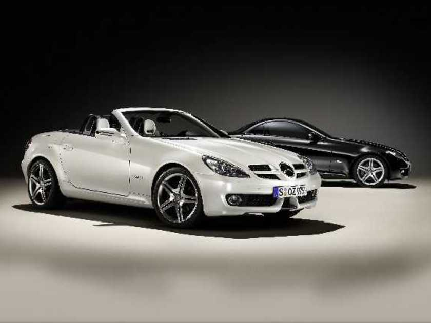 Mercedes slk 2look edition vorne