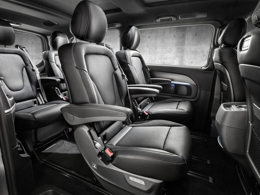 neue ausstattungen f r die mercedes v klasse auto. Black Bedroom Furniture Sets. Home Design Ideas