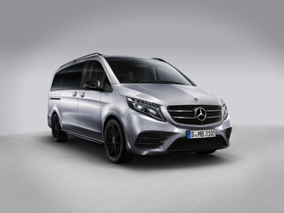Bestellstart für die Mercedes V-Klasse Night Edition