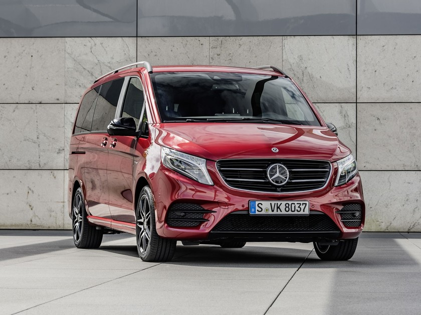 Neue limited edition mercedes v klasse 001