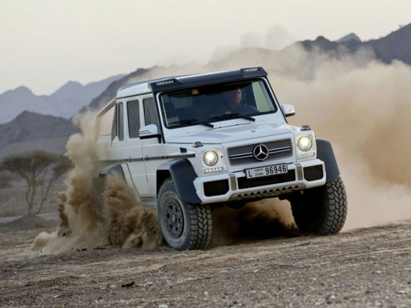 Showcar: Mercedes G63 AMG 6x6 ::: auto-motor.at :::
