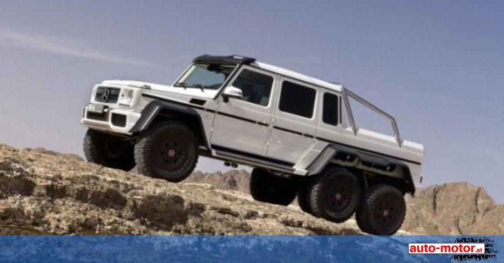 Showcar: Mercedes G63 AMG 6x6 ::: auto-motor.at :::