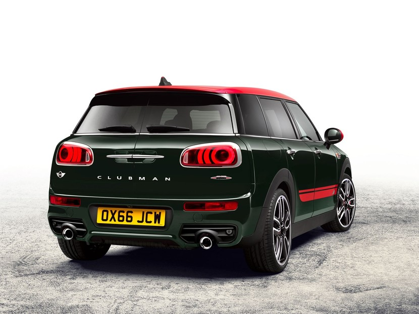 neu mini clubman auch als john cooper works auto. Black Bedroom Furniture Sets. Home Design Ideas
