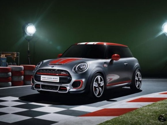 Mini John Cooper Works Concept in Detroit