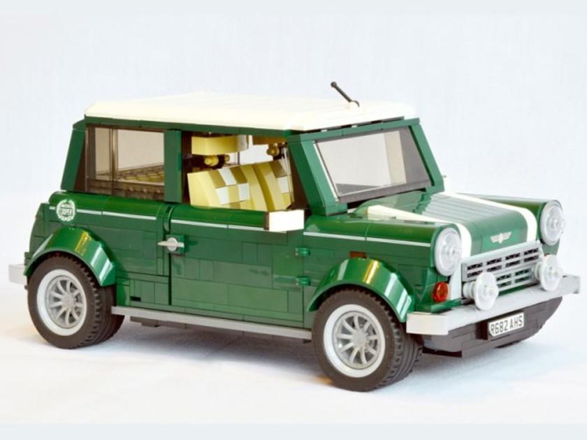 neu classic mini als lego bausatz auto. Black Bedroom Furniture Sets. Home Design Ideas