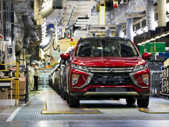 Mitsubishi Eclipse Cross am Weg nach Europa