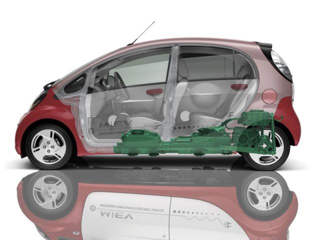 Mitsubishi präsentiert auf der vienna auto show den i miev