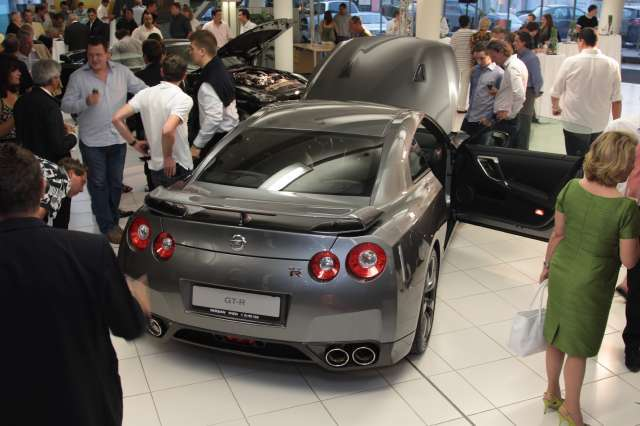 Nissan gt r high performance wien hinten
