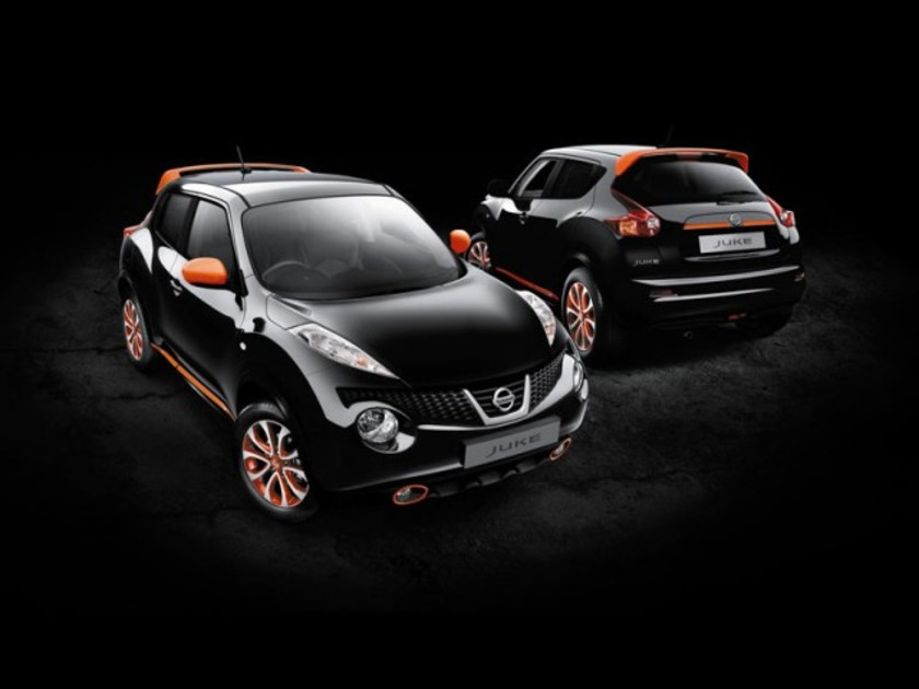 Nissan juke neuen design styling features 001