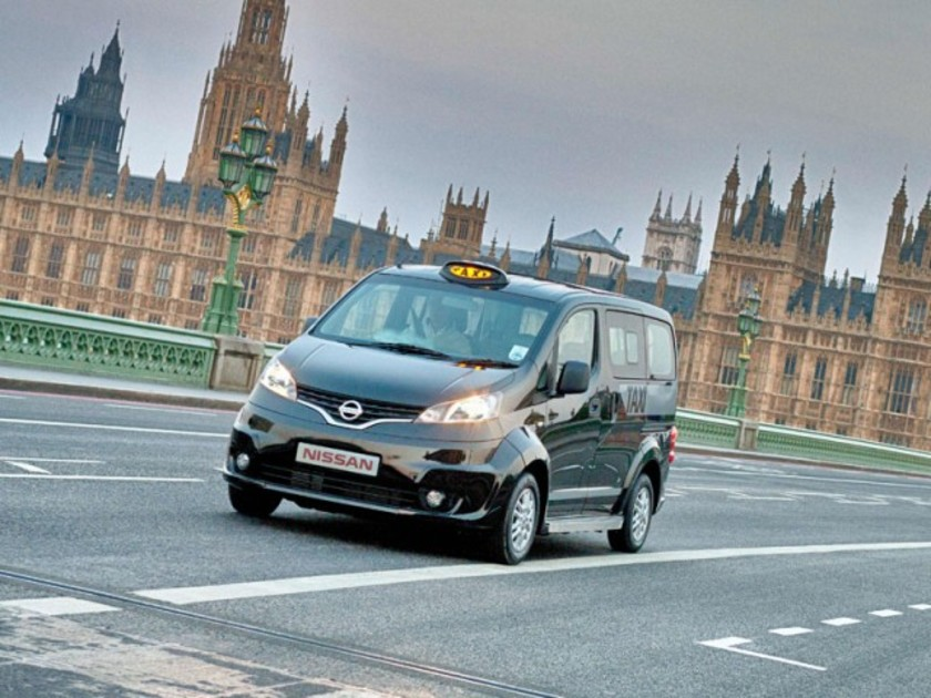 Nissan nv200 auch als taxi fuer london 001