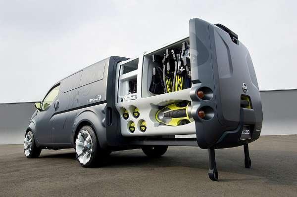 nissan nv200 ein nutzfahrzeug f r die zukunft auto. Black Bedroom Furniture Sets. Home Design Ideas