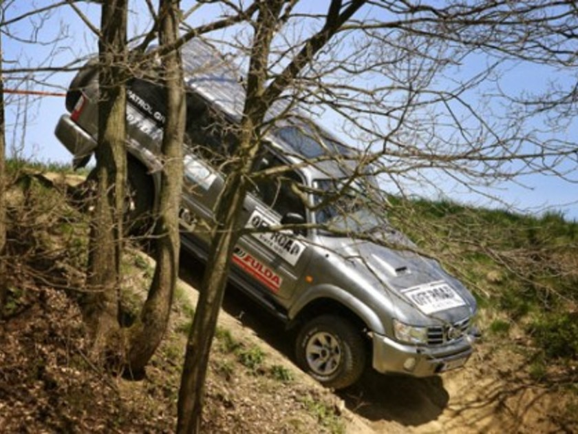 Nissan offroad tour
