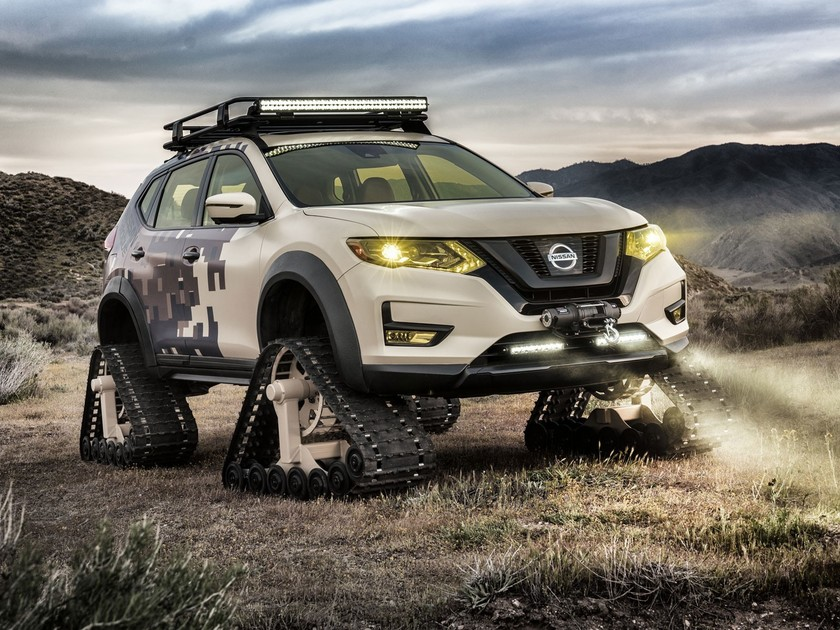 Nissan praesentierte rogue trail warrior project 001