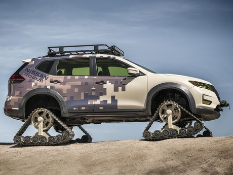 Nissan praesentierte rogue trail warrior project 002